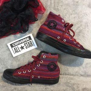 NWOT Fabric Converse